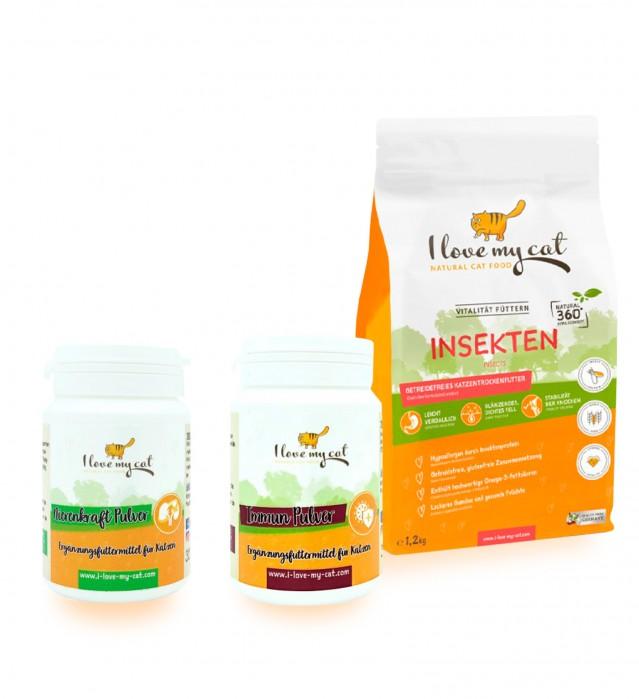 Sparset für Katzen mit Futtermittelallergie